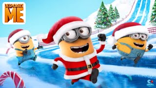 getlinkyoutube.com-Despicable Me: Minion Rush Festive Festivities New Special Missions and New Costume