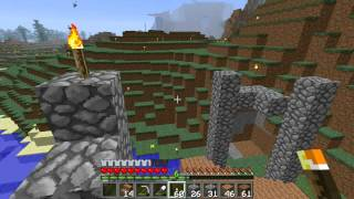 getlinkyoutube.com-Minecraft Greek Multiplayer Survival Επεισόδιο 10:Η στραβή γέφυρα.