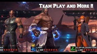 getlinkyoutube.com-Marvel Future Fight- Team Play and More!!