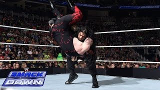getlinkyoutube.com-Roman Reigns vs. Kane: SmackDown, June 27, 2014