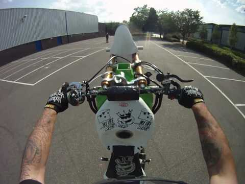 Ghostie Stunts Go Pro Hero hd test footage