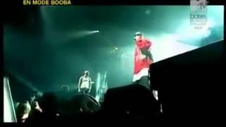 Booba et La Fouine - Réunis ensemble sur scène