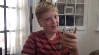 A Kid Gets Tricked Into Swearing