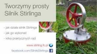 Jak zbudować prosty silnik Stirlinga?