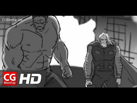 The Avengers Storyboard by Jane Wu CGMeetup.net