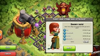 getlinkyoutube.com-IL MIGLIOR VILLAGGIO DI CLASH OF CLANS!! (TH8 trophy base/ TH8 war base)