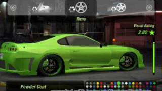 getlinkyoutube.com-Need For Speed underground2 toyota supra tuning