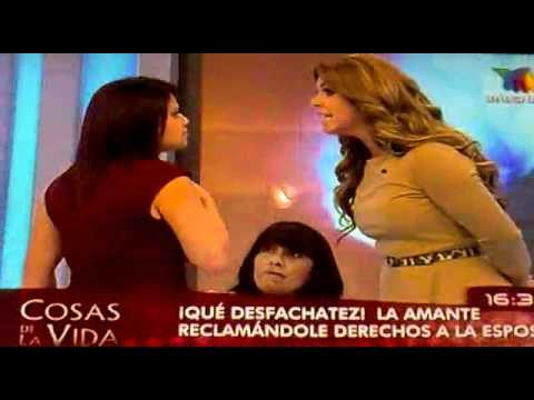 panelista le grita a rocio sanchez azuara