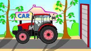 getlinkyoutube.com-☼ Traktor and Car Wash |  Bazylland  ☼