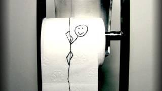 getlinkyoutube.com-Toilet paper guy / Toaletni papirko in Stop Motion - Dobre Ideje