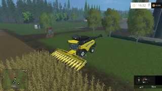 getlinkyoutube.com-FARM SIM SATURDAY Massie Barley and grass cutting