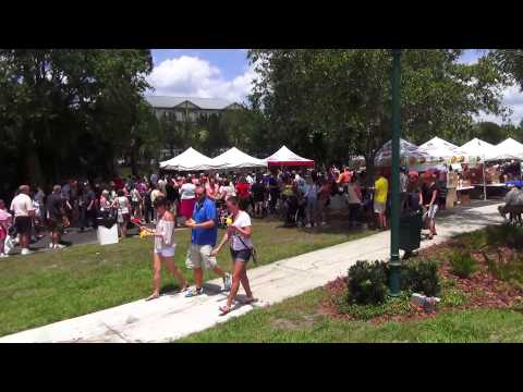 2013 Great American Pie Festival in Celebration Florida