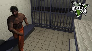 GTA V PC MODS - Un Dia En La Vida De Un Preso !! - Random Moments - ElChurches