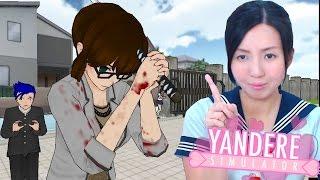 getlinkyoutube.com-Teacher killing herself! Real Yandere plays yandere simulator