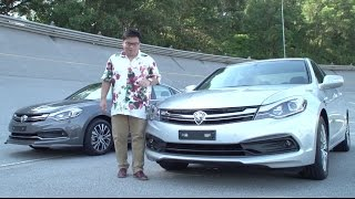 2016 Proton Perdana Review - first impressions test drive