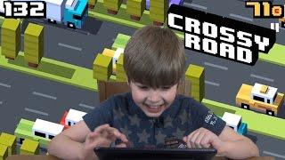 getlinkyoutube.com-Playing Crossy Road (iPad/iOS/Tablet Gameplay Video) KID GAMING