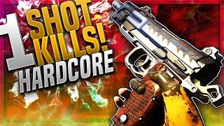 1 SHOT PISTOL KILLS! Black Ops 3 HARDCORE MODE Is GREAT! BO3 GET EASY Pistol KILLS