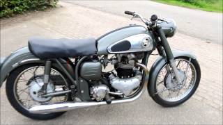 Norton Dominator model 99 600cc 2 cyl ohv from 1957
