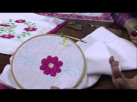 Mulher.com 14/05/2013 Valquiria Campanelli - Bordado mexicano  Parte 2/2