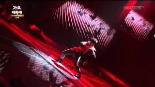 [CUT] 141226 J-HOPE SOLO DANCE - KBS GAYO DAECHUKJE