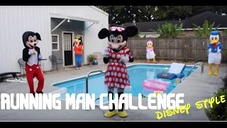 getlinkyoutube.com-Running Man Challenge Disney Characters