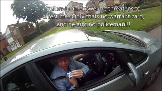 getlinkyoutube.com-Impersonating policeman and dangerous driving KX12 JVR