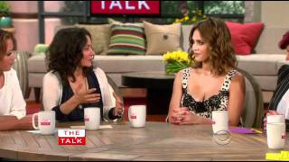 getlinkyoutube.com-Jessica Alba - The Talk