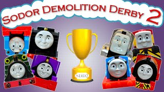 getlinkyoutube.com-Sodor Demolition Derby 2 | Thomas and Friends Trackmaster | Strongest Engine