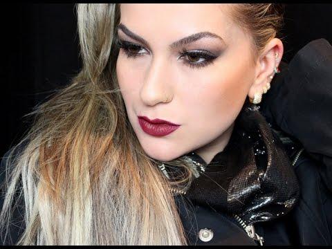 Maquiagem para o inverno 2014 por Alice Salazar