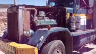 getlinkyoutube.com-Peterbilt 383 V12/71 Detroit Diesel Heavy Haul