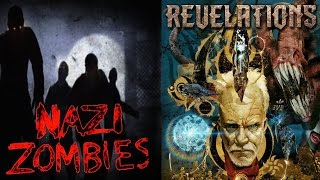 EVOLUTION OF CALL OF DUTY ZOMBIES FIRST ROOM - CoD WaW to Black Ops 3