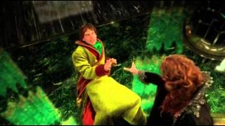 "getlinkyoutube.com-Once Upon A Time 3x16 ""It's Not Easy Being Green"" Zelena turns Walsh Wizard of Oz in flying monkey"