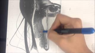 getlinkyoutube.com-Desenho Realista - Textura de pele