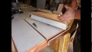 getlinkyoutube.com-Homemade Tools - Table Saw Fence, $50 Wood Shop!