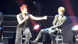 JYJ - Bandmate Questioning (Jaejoong Perfect Skin and Micky)