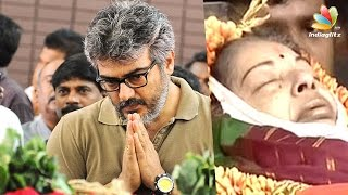 getlinkyoutube.com-Ajith condoles Jayalalithaa demise : Amma Passed Away | Latest Tamil Cinema News