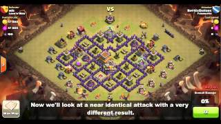 getlinkyoutube.com-Clan Wars: TH7/TH8 Dragon Attack Strategy - Timing