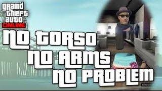 getlinkyoutube.com-GTA 5 Online: INVISIBLE ARMS / TORSO GLITCH Patch 1.24/1.26