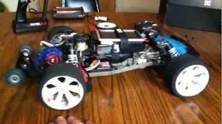 getlinkyoutube.com-Complete Traxxas Rustler 100 mph Mamba Monster 2200kv setup #2