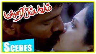 Madurai Sambavam tamil movie   scenes   Harikumar fights with Anand Babu   Anuya width=
