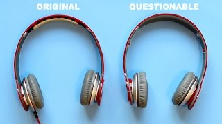 getlinkyoutube.com-MY REAL FAKE BEATS BY DRE HEADPHONES