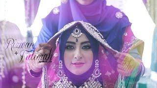 getlinkyoutube.com-INDIAN MUSLIM WEDDING (Kuala Lumpur, MALAYSIA) : Rizwan + Fatimah // Reception by NEXT ART