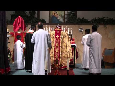Full Holy Qurbana by H.E.Mor Titus Yeldho at St.Mary`s Syrian Orthodox Church,San Francisco,USA.