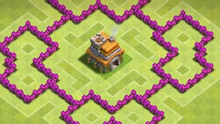 getlinkyoutube.com-Clash Of Clans - BEST BASE (TH6 Hybrid Base) - New 2015 HD