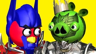 getlinkyoutube.com-ANGRY BIRDS as TRANSFORMERS ♫ 3D animated  movie mashup pt.2  ☺ FunVideoTV - Style ;-))
