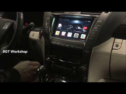 Lexus LS - Android NAvi на штатный монитор
