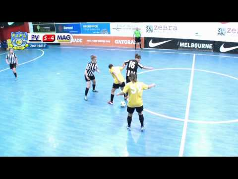 Sydney Magic vs Pascoe Vale, Game 7, Group A, Futsal Oz: Women's FAFL, 2014