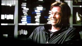 getlinkyoutube.com-Brad Pitt Can't Stop Laughing In 'Moneyball