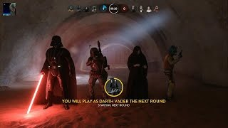 getlinkyoutube.com-Star Wars Battlefront - Outer Rim DLC Heroes vs Villains Gameplay PS4 60fps (No Commentary)
