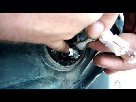 Замена лампы габаритного огня на Geely Emgrand EC7
